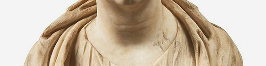 Extremely realistic Roman bust of woman