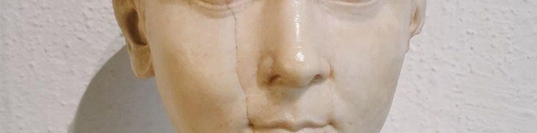 A bust of Lucius Caesar
