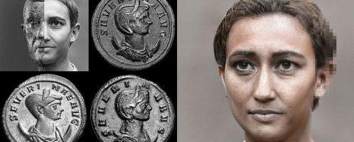 Reconstruction of empress Ulpia Severina