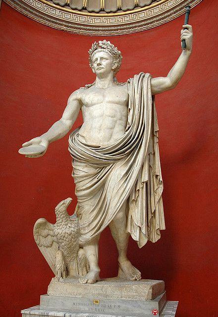 Sculpture of the Emperor Claudius