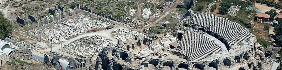 Roman theater in Side