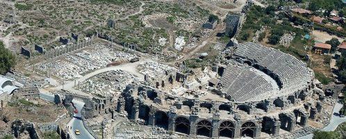 Rzymski teatr w Side