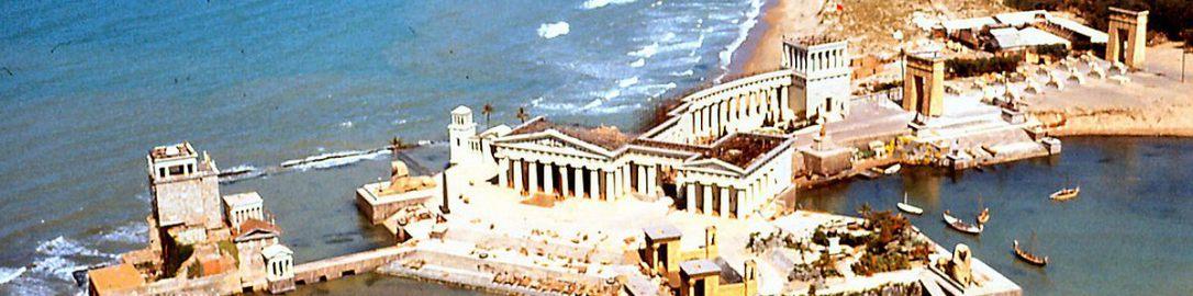 """Scenery from movie """"Cleopatra"""""""