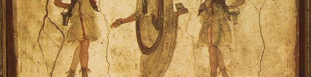 Fresco depicting Lares