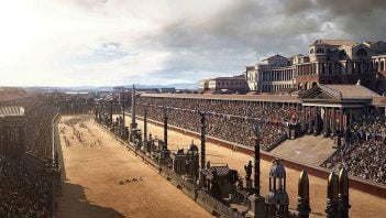 Piękna rekonstrukcja Circus Maximus