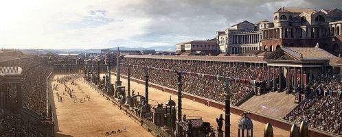 Beautiful reconstruction of Circus Maximus