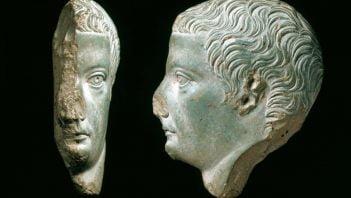 Portret Tyberiusza na naczyniu ofiarnym