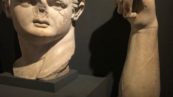 Pozostałości kolosalnego posągu Domicjana