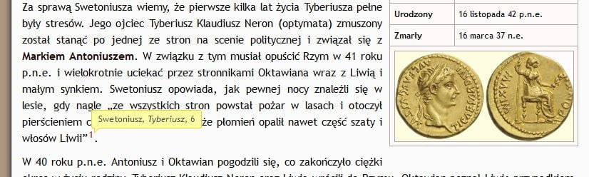 Footnotes onIMPERIUM ROMANUM