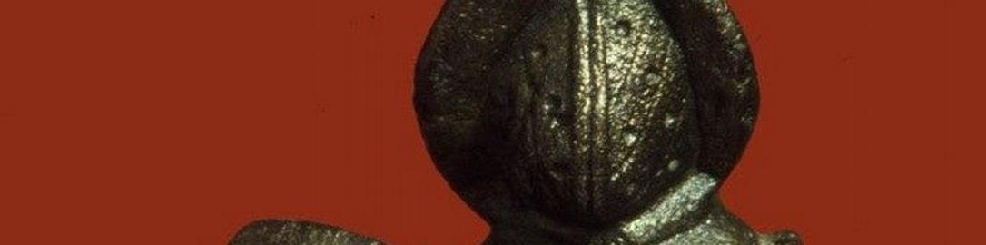 Roman statuette of Thraex