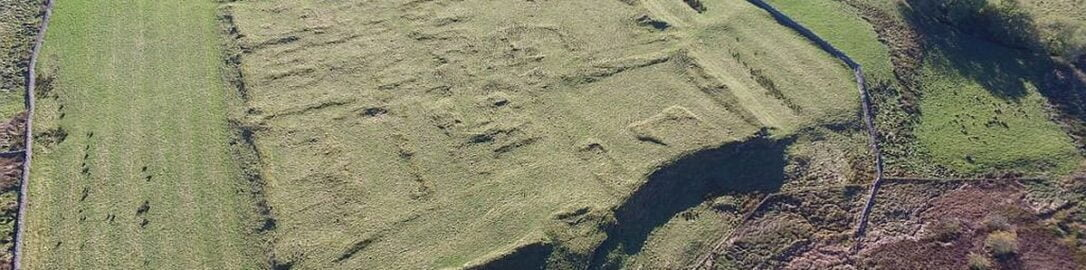 Roman fort in Risingham