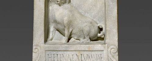 Roman tombstone with interesting inscription