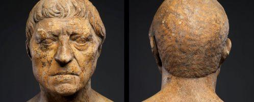 Roman portrait of elderly man