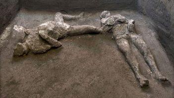 W Pompejach odkryto ciała właściciela i niewolnika