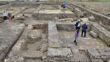 Foundations of large structure were discovered in Serbia