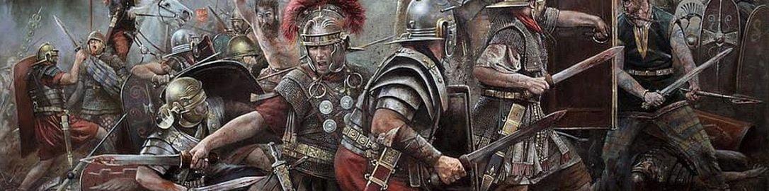 Walka Rzymian z barzbarzyńcami
