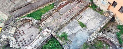 Roman baths in Serbia