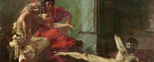 Joseph Noël Sylvestre, Locusta Testing Poison on a Slave