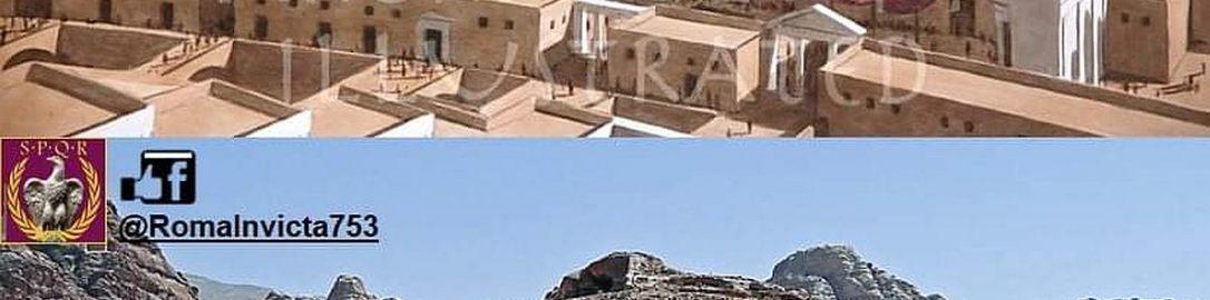 Rekonstrukcja świątyni w Petrze
