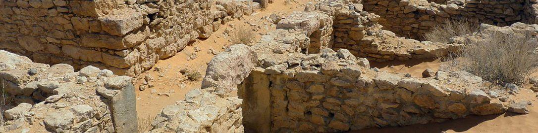 Ruiny rzymskiego fortu Tisavar, należącego do Limes Tripolitanus