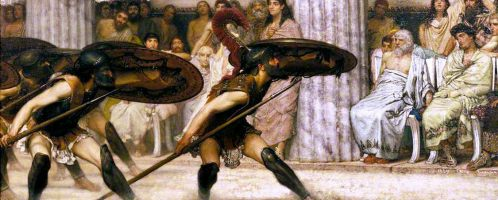 Alma Tadema, The Pyrrhic Dance