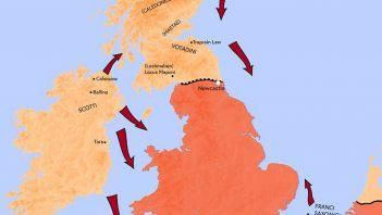 """""""Barbarzyńska konspiracja"""" - najazd barbarzyńców na Brytanię w IV wieku n.e."""
