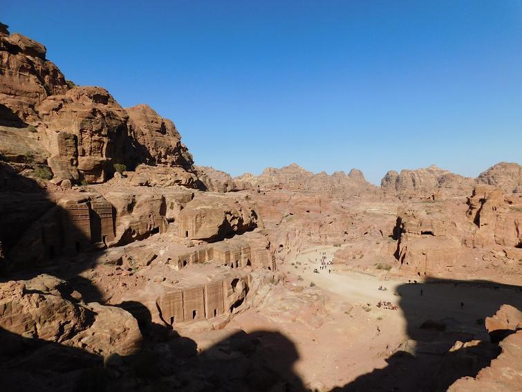 Panorama of ancient Petra