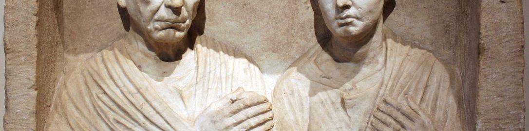 Relief pogrzebowy Publiusza Aiediusza Amphio i jego żony Aiedii