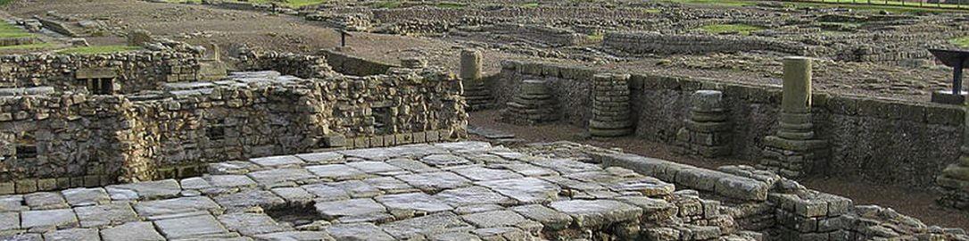 Ruins of granary in Corbridge