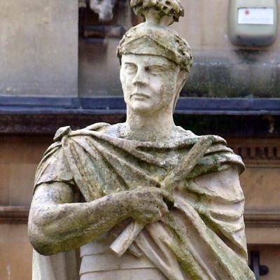Statua Juliusza Agrykoli w Baths