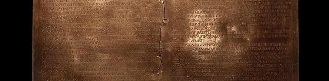 Tablica z Lyonu przemowa Klaudiusza