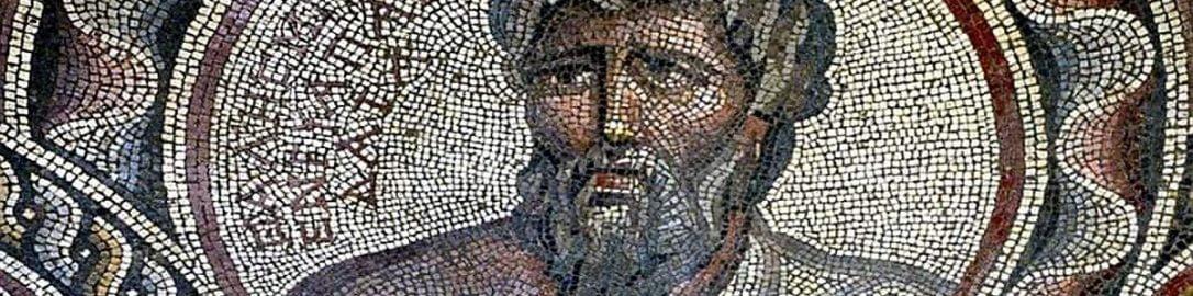 Thales of Miletus on Roman mosaic