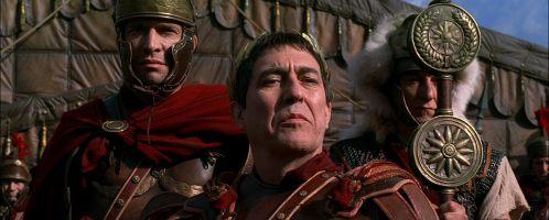 Caesar in the series Rome