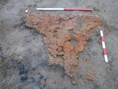 Fragmenty rzymskiego pieca