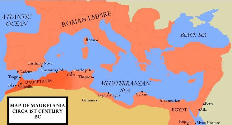 Maurytania w I wieku p.n.e.