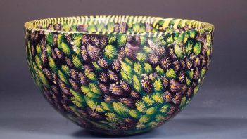 Roman bowl made with millefiori technique