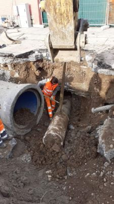 Odkrycie kamieni milowych w Bresci