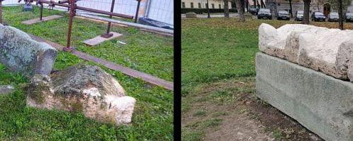 Odrestaurowany rzymski sarkofag w Belgradzie