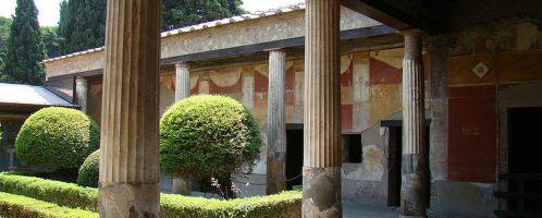 Perystyl w Domu Wenus w muszli, Pompeje