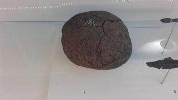 Missile from Roman ballista