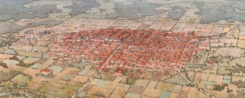 Reconstruction of ancient Bracara Augusta