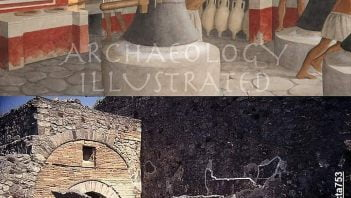 Rekonstrukcja piekarni rzymskiej w Pompejach