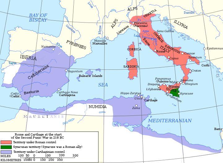 Republika rzymska przed II wojną punicką