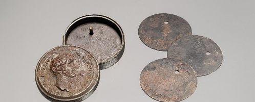 Rzymski przenośny zegar słoneczny