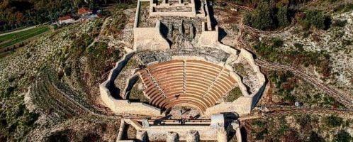 Roman theater in Pietravairano