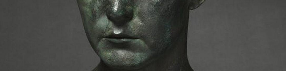 Rzymskie popiersie mężczyzny