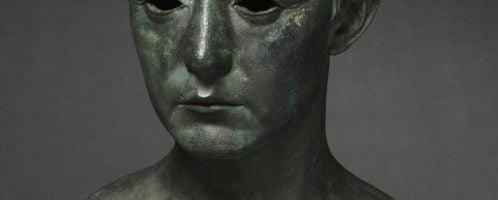 Roman bust of man