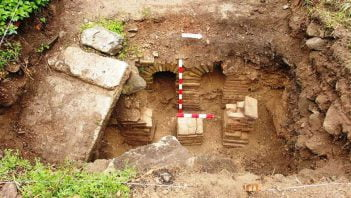 Bulgarian archaeologists discovered luxurious Roman road station in 2014