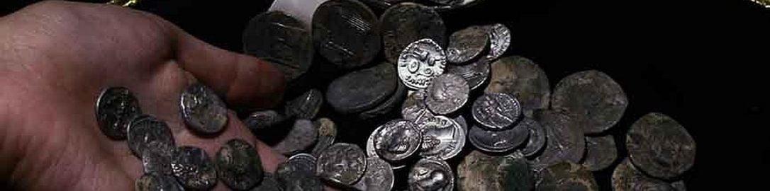 W Turcji odkryto monety z wizerunkami znanych Rzymian