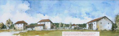Wizualizacja willi rustica w Eigeltingen